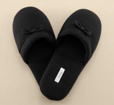 Embraceable Slipper in Black #SomaIntimates #MySomaWishList #MySomaWishList