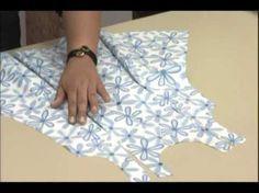 DIY Costura: Como hacer vestido para niñas con lazos (patrones gratis) - YouTube