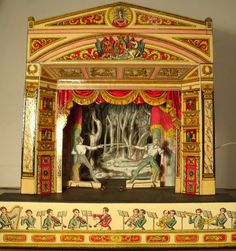 vintage puppet theaters