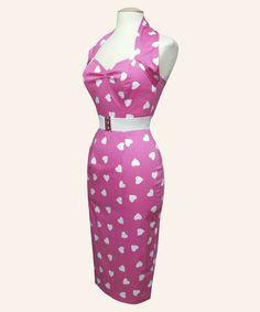 Halterneck Pencil Dresses from Vivien of Holloway   1950s Dresses from Vivien of Holloway