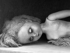 https://flic.kr/p/8CB3vz | Old Sleeping Porcelain Doll. Photo by Sherrie Thai of Shaireproductions.com .  Tags: creepy goth gothic horror retro