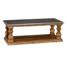 Sutton Coffee Table #potterybarn Really like this, but what we do with the family room will determine whether or not this will go.