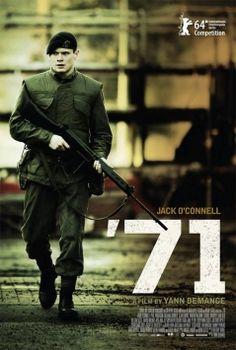 20 OUFF - inédito - '71 - Auditorio Municipal / 20/11 - 17:30h / 20/11 - 20:00h Un mozo soldado británico é abandonado accidentalmente pola súa unidade durante uns disturbios nas rúas de Belfast en 1971. Incapaz de distinguir entre amigos e inimigos, e cada vez máis desconfiado dos seus propios compañeiros, o inexperto recruta deberá intentar sobrevivir toda a noite só e atopar o camiño de volta a través dunha paisaxe desconcertante, estraña e mortal.
