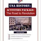 This well designed package will provide your students with an excellent overview of the events that led to the American Revolution. An excellent wa...