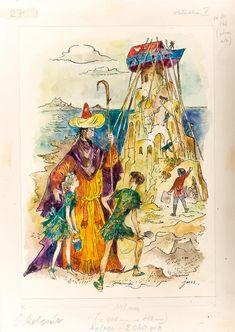 Jan Marcin Szancer - Budowa arki Book Illustration, Illustrators, Fairy Tales, Polish, Weddings, Classic, Kids, Painting, Art