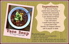 Rainbow Gospel Radio | Taco Soup