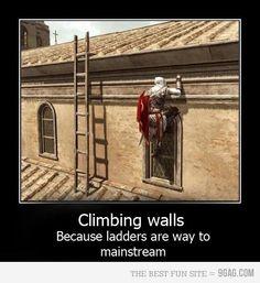 LOL! Assasins Creed's Hipster Version!