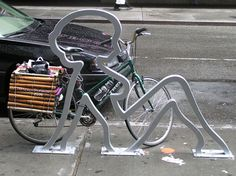 Lady Bike Rack - NYC