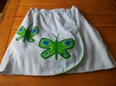 Vintage Womens Lady 60s Wrap A Line Shorts Skort by LittleMarin,