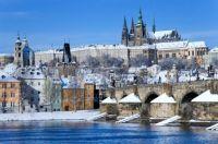 Hradčany v zimě - Prague Castle in winter