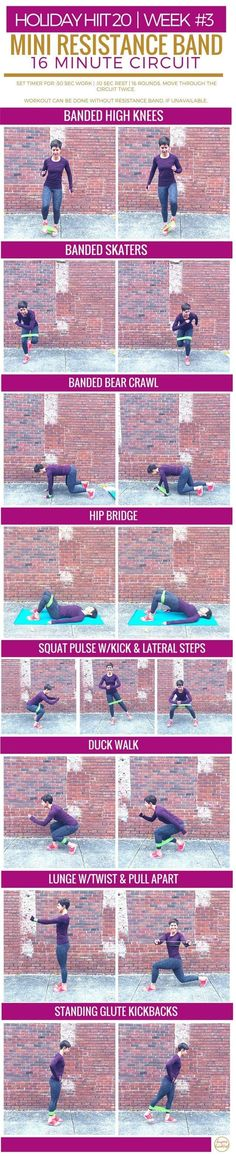 Mini Resistance Band Circuit   Burpees for Breakfast