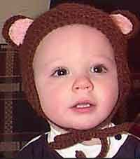 Over 100 Free Crocheted Baby Hat Patterns