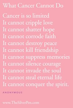 breast cancer inspirational quotes, breast cancer inspiration, silver lining Cancer Quotes, Cancer Facts, Breast Cancer Survivor, Breast Cancer Awareness, Lung Cancer, Leukemia Awareness, Testicular Cancer, New Quotes, Frases
