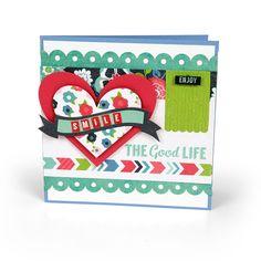 The Good Life Card - Scrapbook.com