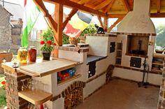 Sommerküche Kochen : Komplett kis nyári konyha amibe tökéletesen beillik a természetes