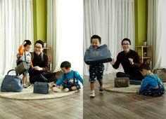 Twins Seo Eon and Seo Jun and Lee Hwi Jae Are DAKS Accessories' New Models