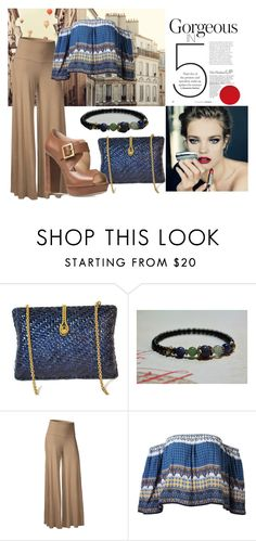 """""""Gorgeous"""" by bagmerchant ❤ liked on Polyvore featuring Michael Kors, palazzo, ClassicBagMerchant and GemsandPearlsKC"""