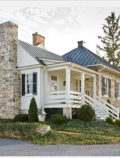 House Exteriors Featuring Stone