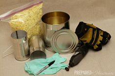 Build a #10 Can ROCKET STOVE: It Cooks an Entire Meal With Twigs! | Prepared Housewives