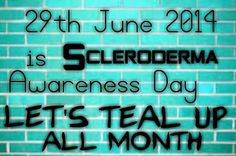 Great way to end the month of June... Awareness is job number 2.  Job number 1?  Why, finding a cure, of course.