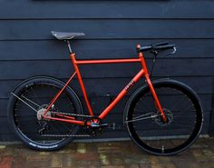 Nr 9: Mark's all-rounder What do you get when you mix a road bike with a mountain bike, a fixie, and a randonneur? Mark wanted a robust all-round road bike as an addition to his road racer. A fast...
