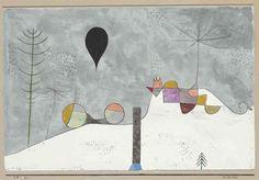 Paul Klee: Winterbild, 1930