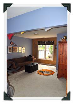 Bonus room or fourth bedroom
