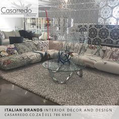 Fashion Sofa Modular elements with a simple and linear elegance with backrests reclining to several relax positions. www.casarredo.co.za 011 786 6940 #casarredo #furniture #design #decor #fashion #italian #sofa
