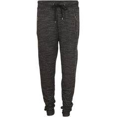 Vila Poply Sweat Pant ($52) ❤ liked on Polyvore featuring activewear, activewear pants, pants, bottoms, pantalons, sweatpants, sweats, black, zippered sweat pants and baggy sweat pants