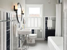 Black And White Bathroom Inspirations
