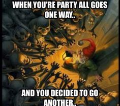 Splitting the Party