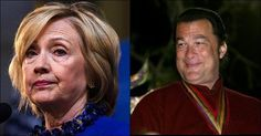 """With Hillary Clinton resting peacefully after her """"totally not concerning"""" collapse over the weekend, badass American actor Steven Seagal took to Twitter to drop a nasty 6-word bomb — and it's clear that he's done with her nonsensical lies."""