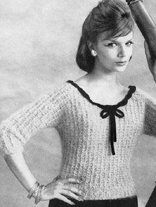 Free Vintage Sweaters Patterns