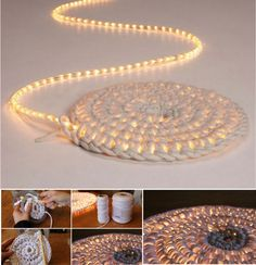 Crochet Night Light Mat
