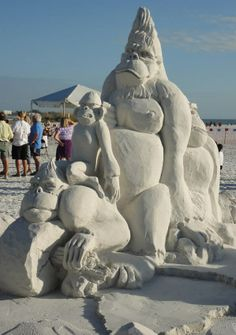 Siesta Key Crystal Classic Sand Sculpting Competition 2013