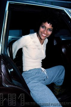 © WALTER McBRIDE / , USA...Debbie Allen. June 1982. Filming an episode of Fame in The Broadway Theatre District, New York City.