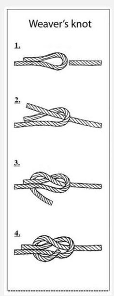 Weaver's knot, helpful with yarn color changes