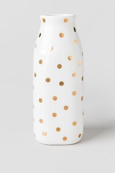 1000 ideas about gold polka dots on pinterest polka dot for Dot wall vase