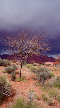 Utah sky. St. George Utah.