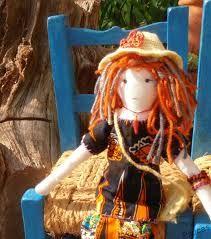 Resultado de imagen de muñecas de trapo únicas y artesanales