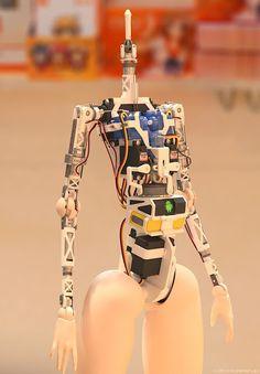 3D Printed Robotic Anime Doll Takes Shape