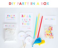 DIY Party in a Box!