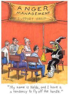 funny cartoons halloween anger management posted on wwwjokideocom - Halloween Humor Jokes