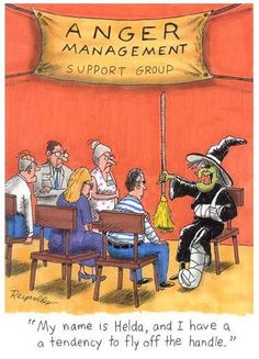 Halloween Anger Management