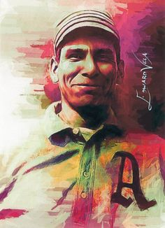 Chief Bender - Philadelphia Athletics (HOF 1953) Baseball Players, Baseball Cards, Philadelphia Athletics, Athlete, Artist, Movie Posters, Painting, Sports, Collection