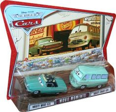 Movie Moments RUSTY RUST-EZE & DUSTY RUST-EZE Disney / Pixar CARS 1:55 Scale Die-Cast Vehicle 2 Pack by Mattel. $44.98. 2 Car Movie Moment set by Mattel, includes Rusty and Dusty!!!. This is the 2 car Movie Moment set in either the Supercharged, World of Cars or Race O'Rama packaging!!  Rusty and Dusty, the sponsors of Lighning McQueen with Rust-Eze Bumper Ointment!!!   1: 55 scale, made by Mattel.