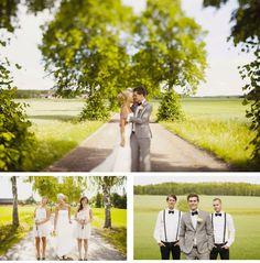Fru lycklig: Vackert svenskt bröllop