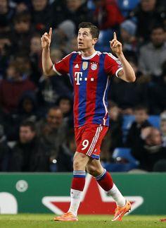 Robert Lewandowski Bayern Munich (Munchen)