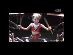 Incredible Little Chinese Girl Playing Killer Drums Not to be Believed! - YouTube