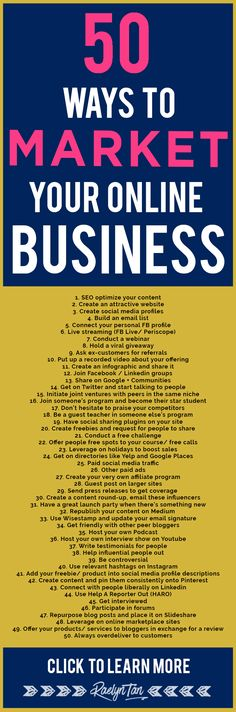 50 marketing tips and ideas. Mucho trabajo online para tu negocio ¿verdad? #marketing #socialmedia